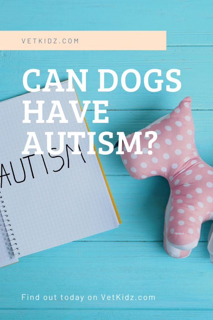 Can Dogs Have autism Pin
